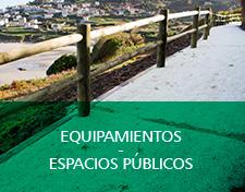 equipamientos y espacios publicos